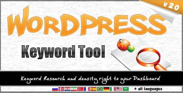 Wordpress Keyword Tool