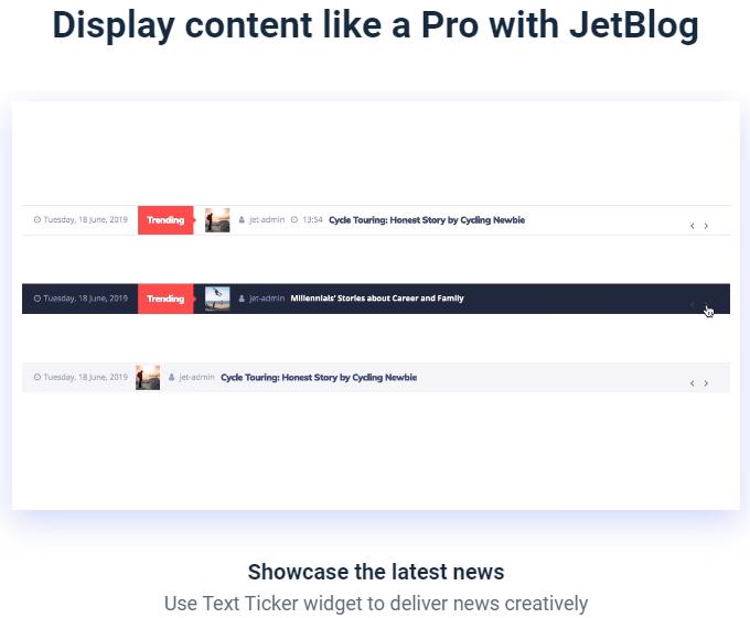 jetblog showcase